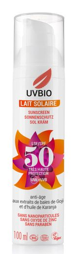 FRANCE- CREME SOLAIRE INDICE 50 - UV BIO Sun protection organic