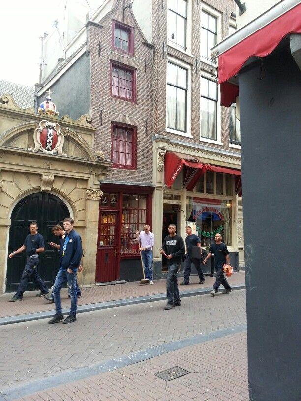 Amsterdam - casina rossa