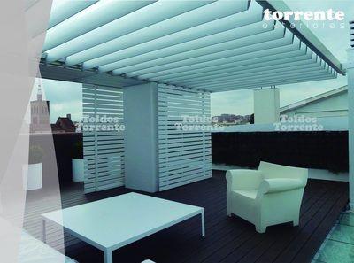 Pérgola aluminio Pergalum® AL9 - Pérgolas Barcelona TE®