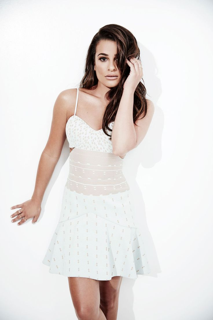 Lea Michele poses for a portrait at the Summer TCAs