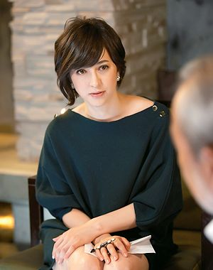 Christel Takigawa (French-Japanese) Japanese TV announcer