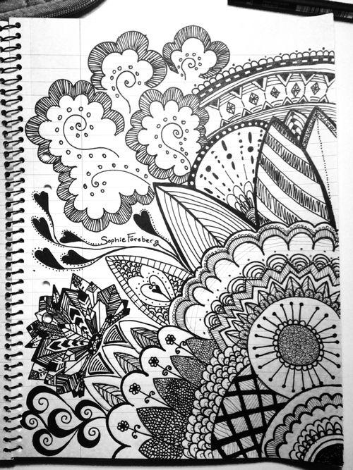 Drawing | Tangle art, Sharpie art, Drawings