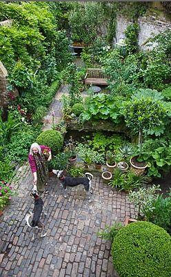 Pequeño jardin de artistas. Londres
