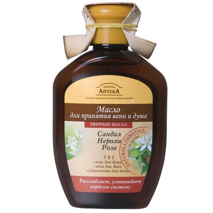 Green Pharmacy bath oil and soul, Сedar & cypress, Sandalwood&Neroli&Rose 250ml