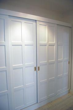 inbyggda garderober skjutdörrar - Sök på Google