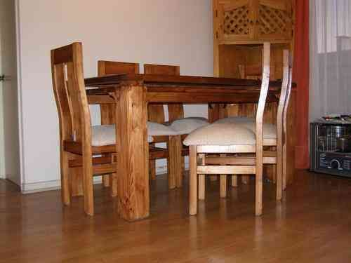 Las 25 mejores ideas sobre comedor 6 sillas en pinterest for Comedores en pino
