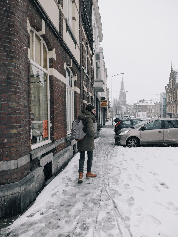 Snowy streets, wet shoes and cold toes