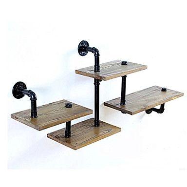 LOFT Innovative Design DIY Book Shelves Retro Style Old Industrial Pipes Shelf Bookcase Shelves-Z29 2016 - $98.99
