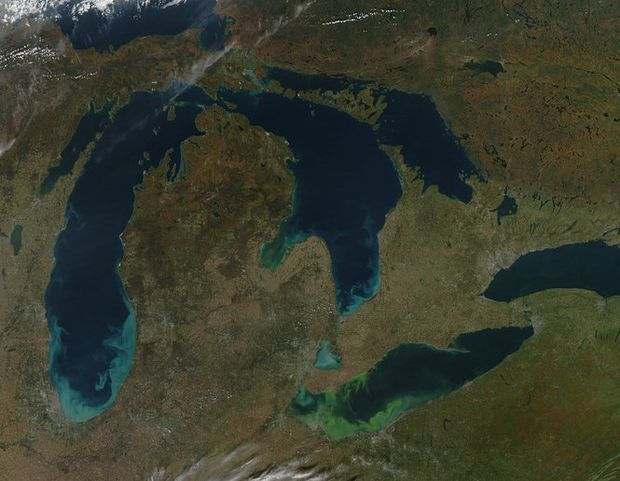 06/07/2017 - Lake Erie inches away from hitting record-high water level