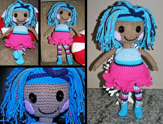 Amigurumi Doll Lalaloopsy : The world s best photos of crocheted and lalaloopsy flickr hive mind