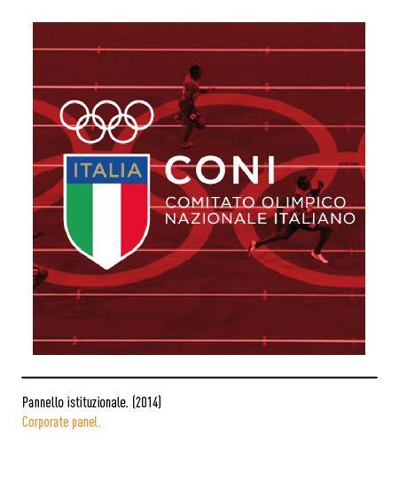Marchio Coni - Pannello istituzionale 2014