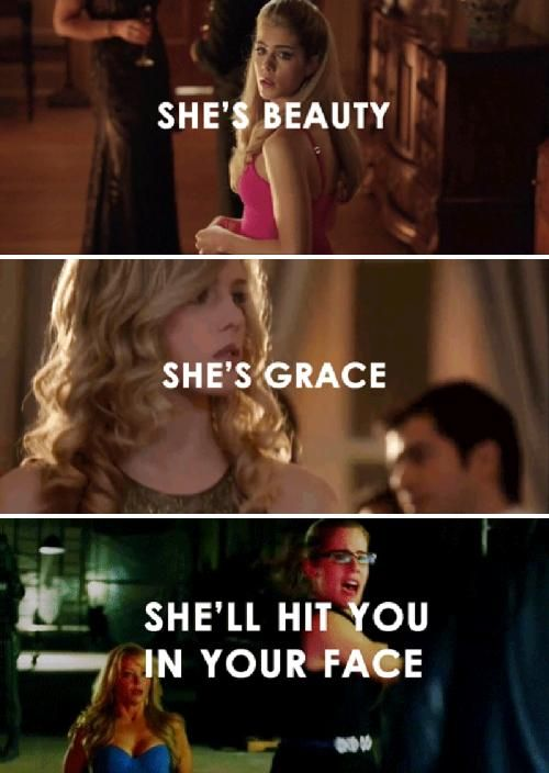 Felicity Smoak :) #Arrow I love you she brings the vibe and thoughts of a regular person into the show.
