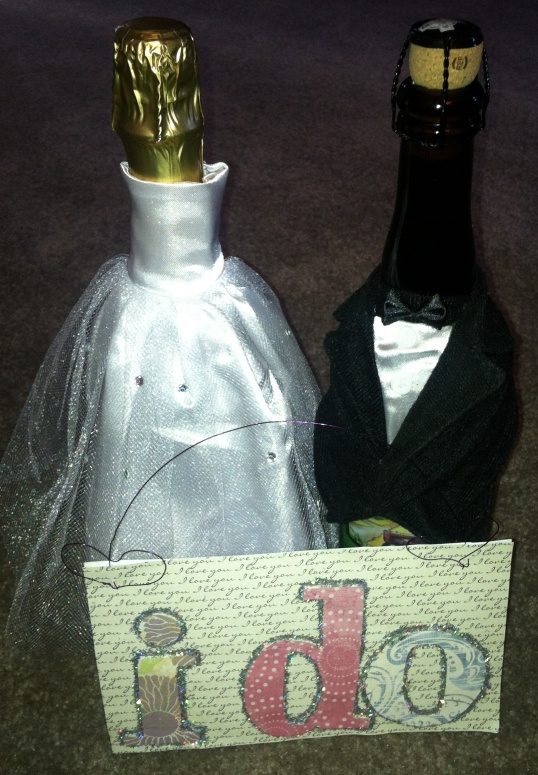 Bridal Shower Gift- Wedding Wine Basket. Its a wine poem with bottles ...