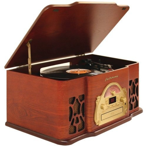 Electrohome Winston 3 In 1 Vintage Classic Turntable Real