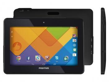 "Tablet Positivo T720 16GB Tela 7"" Wi-Fi - Android 4.4 Proc. Quad-Core Câm. 3MP"