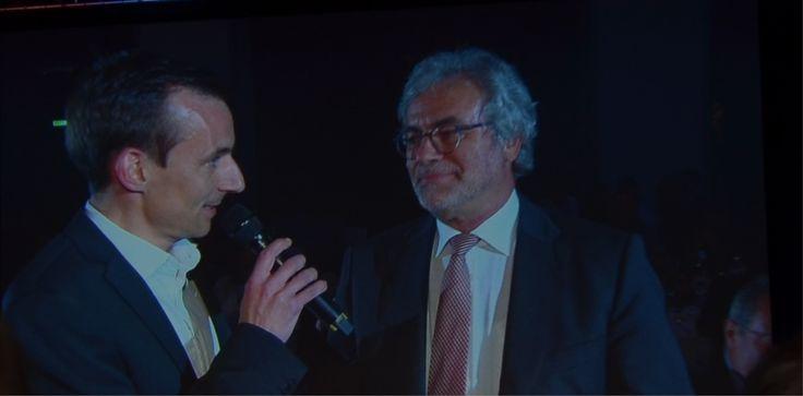 Der Präsident der Austrian Seilbahnpartner Mag. Roderich Urschler begrüßte die Gäste wie jedes Jahr auf französisch.