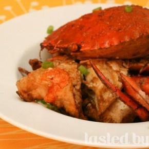 Salt & Pepper Mud Crabs