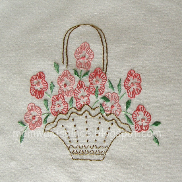209 Best Baskets For Embroidery Images On Pinterest