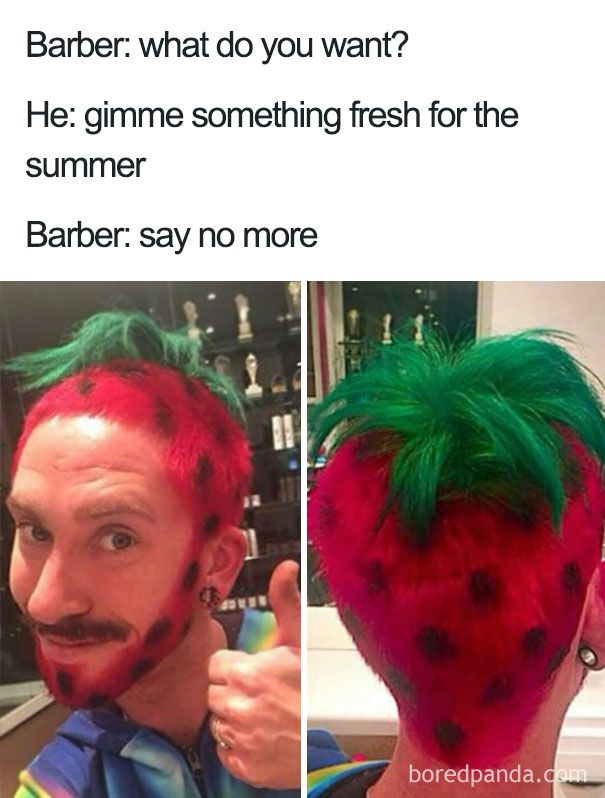 """10+ Terrible Haircuts That Were So Bad They Became """"Say No More"""" Memes"""