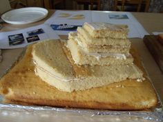 sinking titanic cake | How to Make a Sinking Ship Birthday Cake – A Pretty Titanic Task