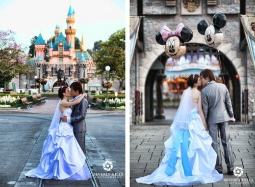 disneyland wedding shoot inspiration how cute is this couple
