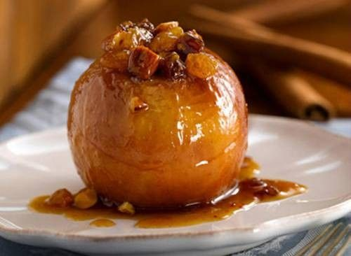 Печеные яблоки - пошаговый рецепт с фото / Простые рецепты