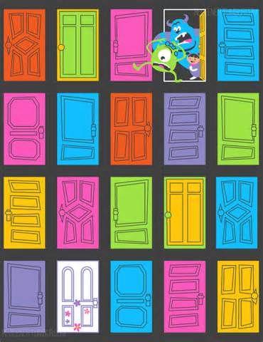 MONSTERS INC OPENING CREDITS DOORS - Ecosia AAAAAAH LOVEEE