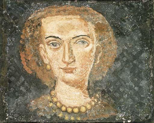 Massimo Campigli, Donna con collana