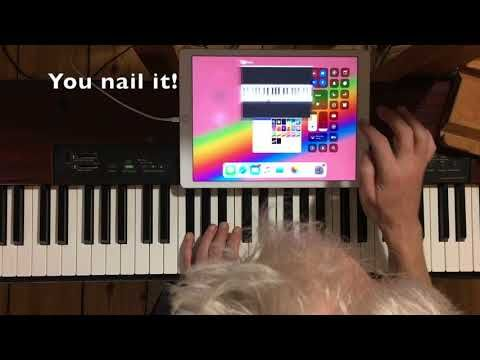 (1) Blues Piano, how to connect harmonies/chord changes - YouTube