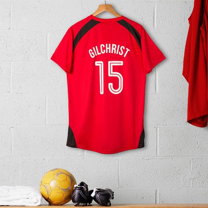 Personalised Adult Official Manchester United Football Top | GettingPersonal.co.uk