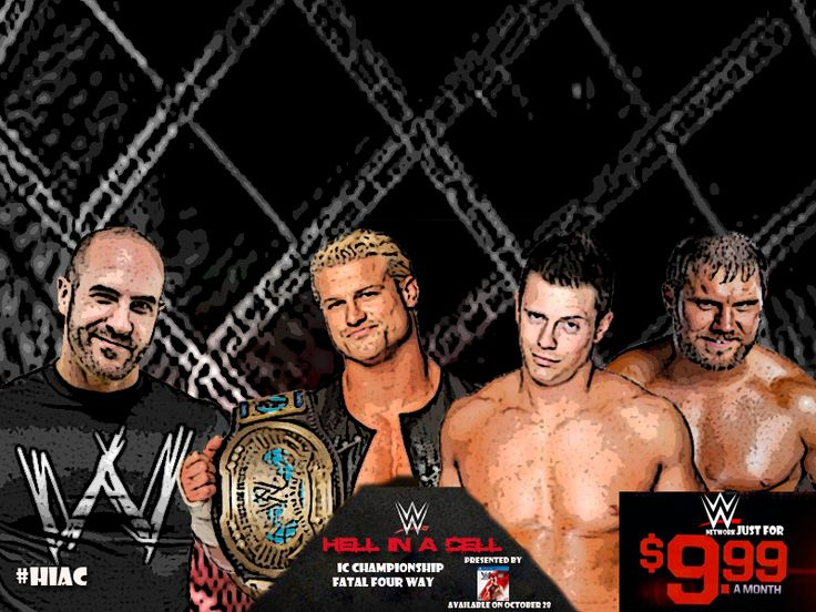 WWE HELL IN A CELL 2014 #HIAC