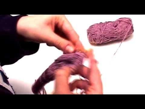 Πλέξιμο - Μείωση πλέκοντας 2 πόντους μαζί-(knit2tog)