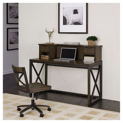 25 Best Ideas About Office Desk With Hutch On Pinterest