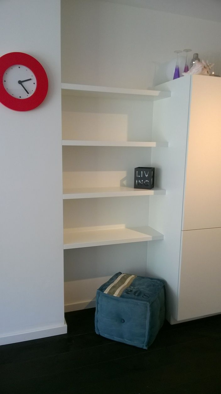 Keuken Planken Met Verlichting : Planken op Pinterest – Zwevende Planken Keuken, Planken en Muur