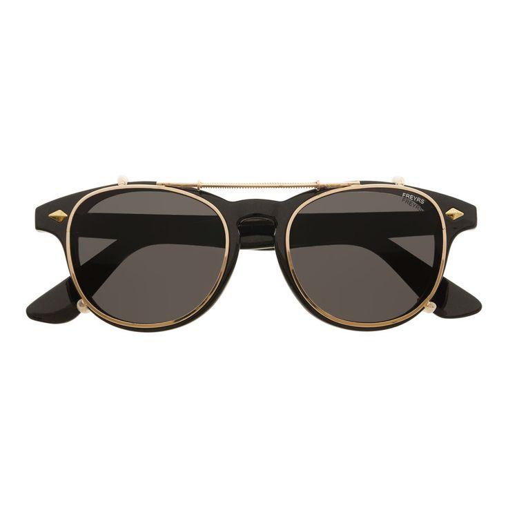 Hampden Clip On Sunglasses, Women's