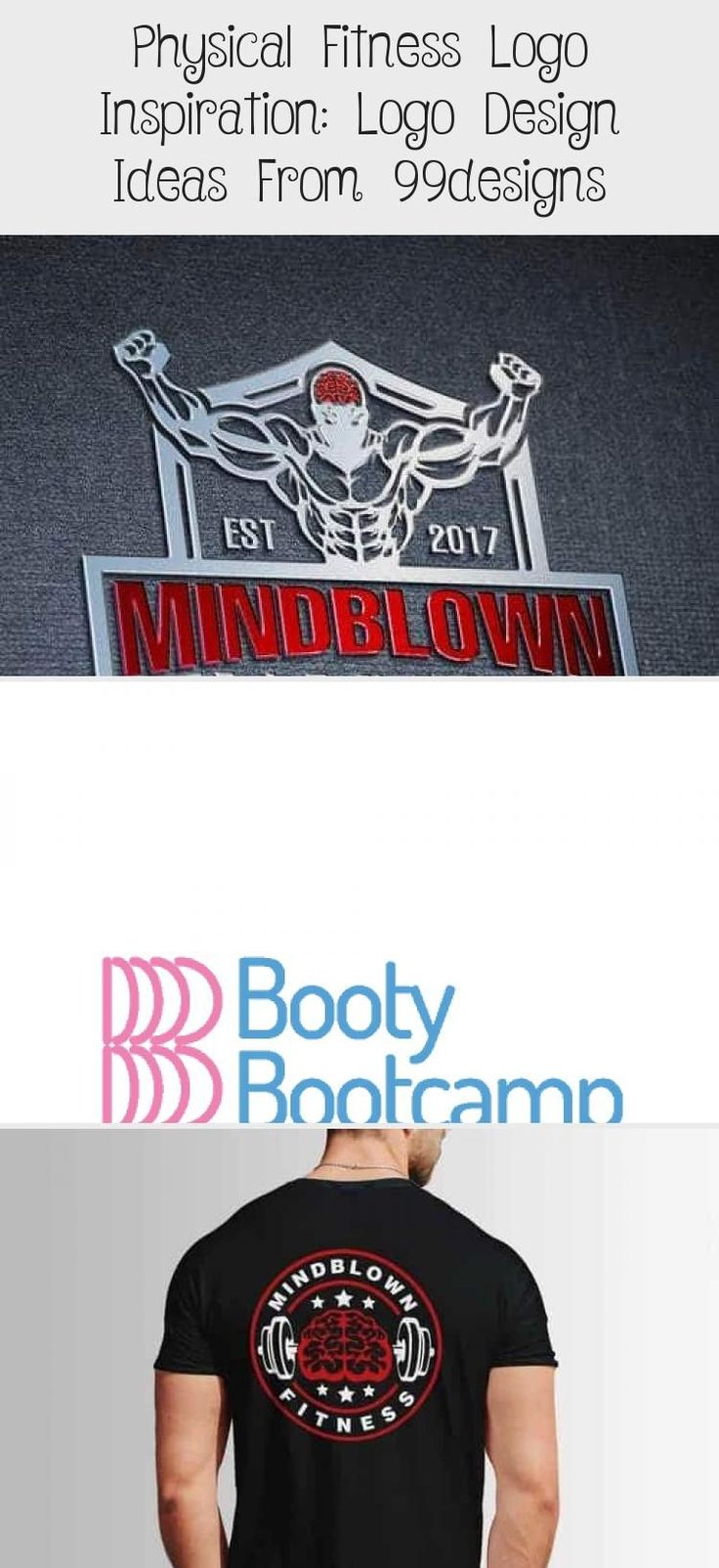Physical Fitness Logo Inspiration Logo Design Ideas from