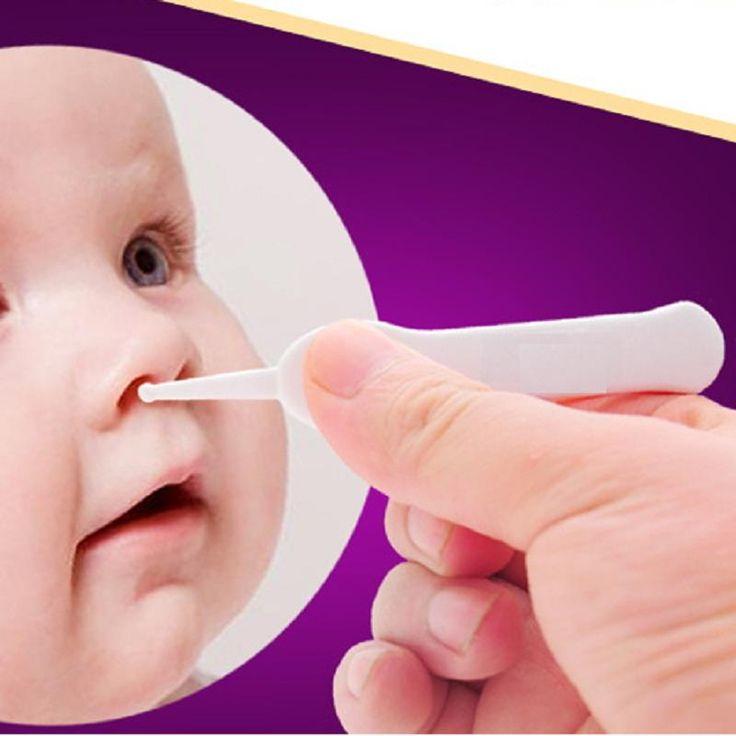 Recién nacido Lactante Cuidado del Oído, Nariz Ombligo de Seguridad caja de seguridad De Plástico Pinzas Pincet Talheres Mamadeira Infantil Pinza Clips Chupetes