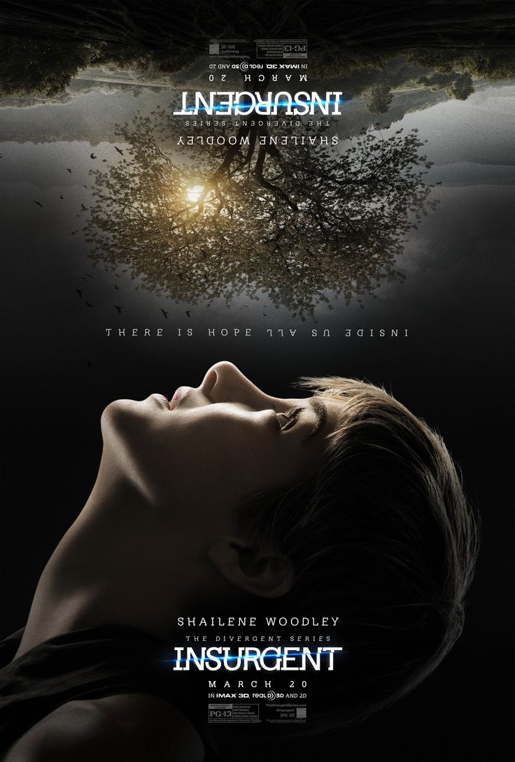 Trippy New Insurgent Posters Have Arrived!