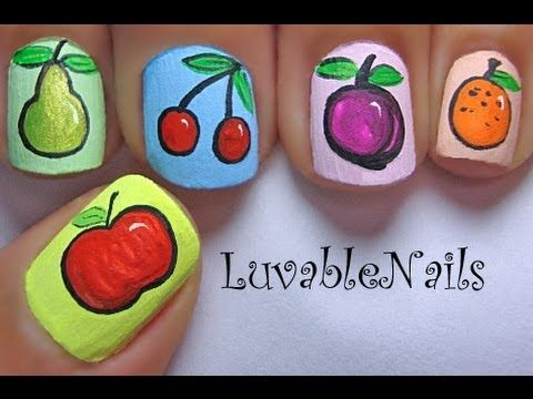 Best 25 fruit nail designs ideas on pinterest fruit nail art spring juicy fruits nail art by luvablenails prinsesfo Image collections