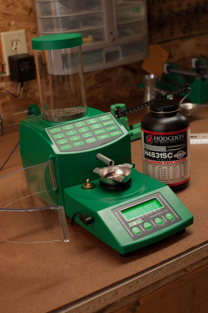 RCBS Chargemaster powder measure an reloading scale
