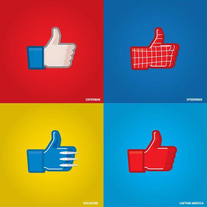 Super Likes: Facebook for Superheroes (I)