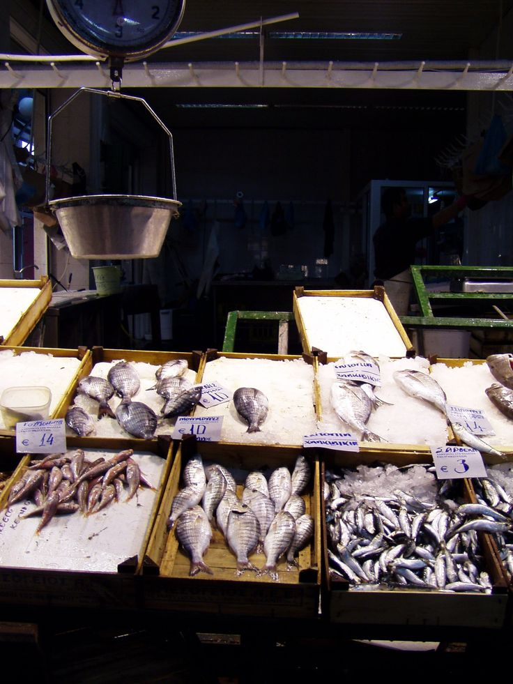 fish market, Thessaloniki Greece