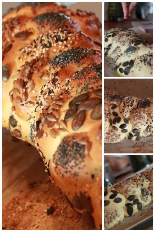 Challah - la ricetta base  La ricetta base per gli Challah i pani intrecciati. Clicca per la ricetta e la procedura, condividi se ti piace.