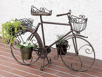 IRON TRICYCLE FLOWER HOLDER 自転車型 お花入れ