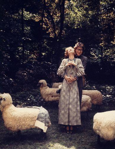 Yves Saint Laurent & Loulou de la Falaise, 1974