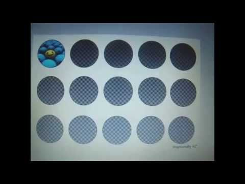 GIMP - How to make bottle cap image sheets - YouTube