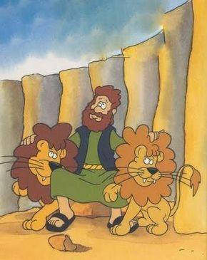 """HISTORIA BÍBLICA: Daniel na cova dos leões  BASE BÍBLICA: Biblia Sagrada - Livro de Daniel - Capítulo 6  Versiculo para Memorizar: """"Porque e..."""