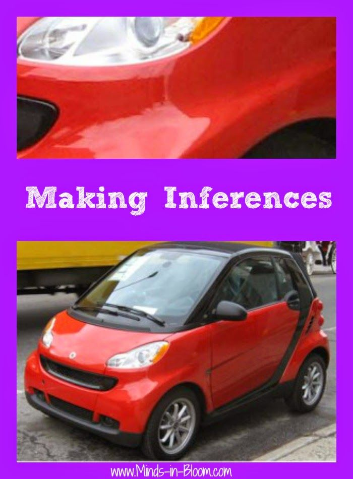 Making Inferences - Ideas for using pictures and games - so much fun!