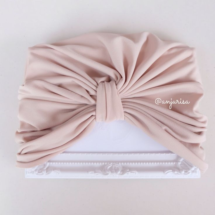My favorite, a pretty turban for baby