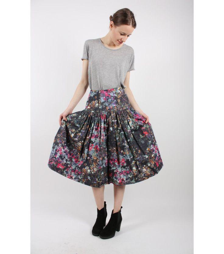 Marimekko Multicolor Skirt, S - WST.fi